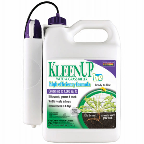 Bonide 759 KleenUp High-Efficiency Weed & Grass Killer, Gallon