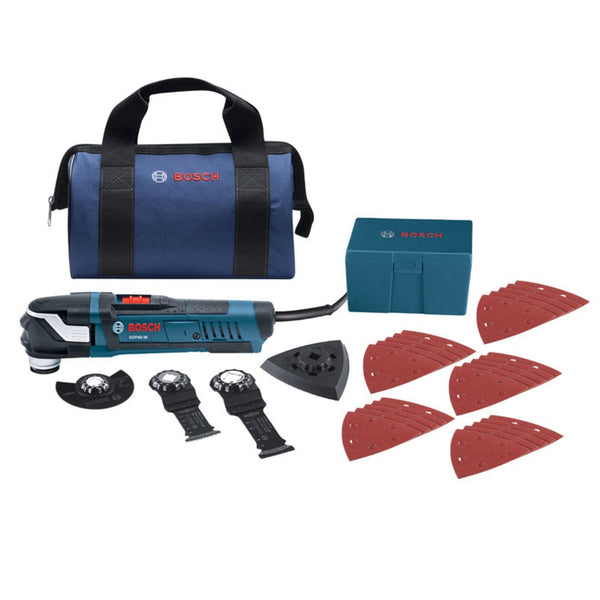 Bosch GOP40-30B Starlock Oscillating Tool Kit, 4 Amps