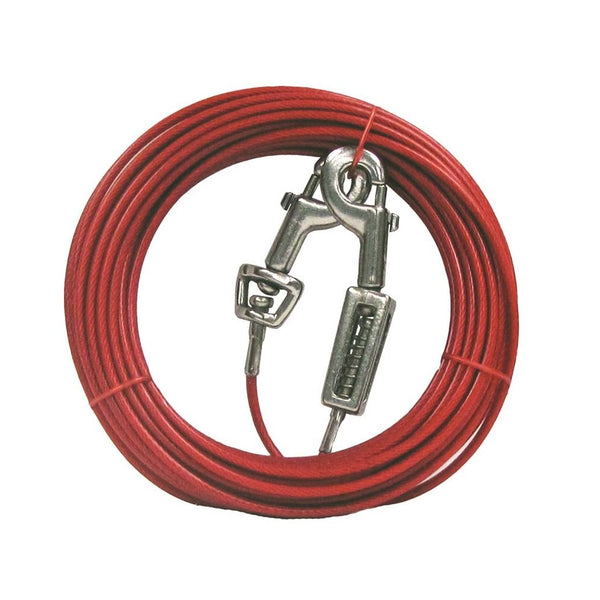 Boss Pet Q3530SPG99 PDQ Tie-Out with Spring, 30 Feet