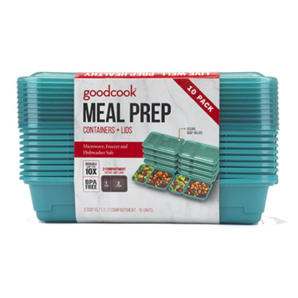 Bradshaw 10784 Goodcook Lunch Meal Container, Blue