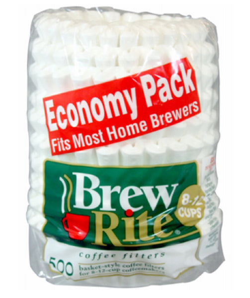 Brew Rite 45-501A Coffee Filters, 500 Count