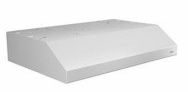Broan BCSD130WW Glacier Convertible Under Cabinet Range Hood with Light, White, 30 Inch