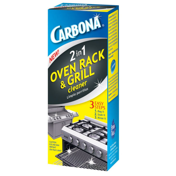 Carbona 320 2-In-1 Oven Rack & Grill Cleaner, 16.8 Oz