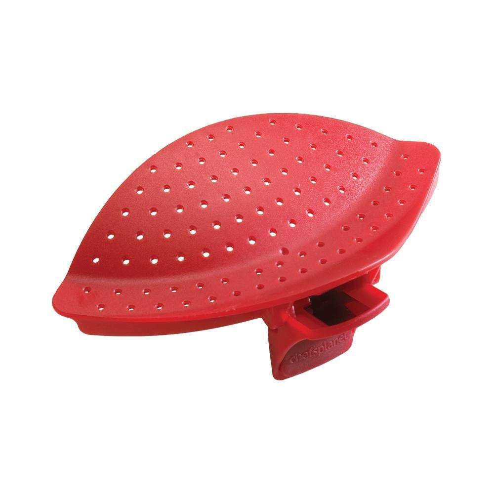 Chef's Planet 608 Clip & Drainer, Red