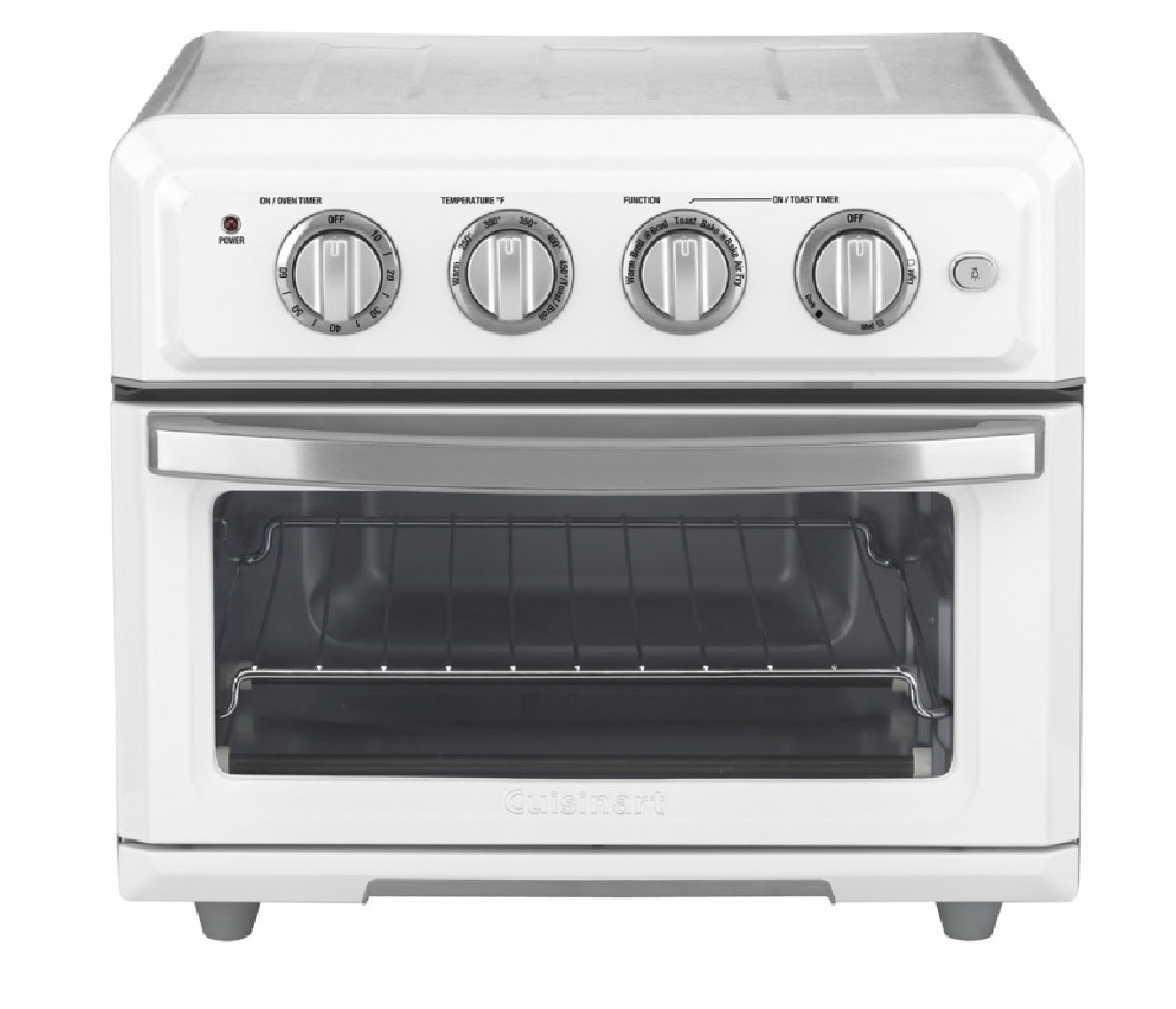 Cuisinart Toa-60 Air Fryer Toaster Oven, Stainless Steel, Gray/silver