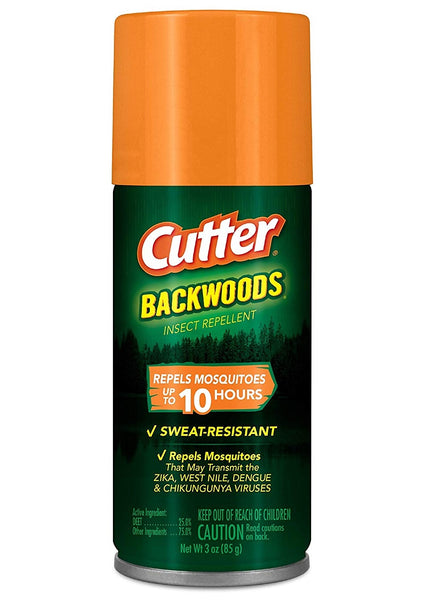 Cutter HG-96735 Backwoods Insect Repellent, 3 Oz