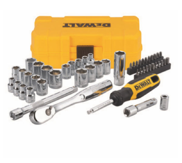 DeWalt DWMT81611T Mechanics tool set, 50 Piece