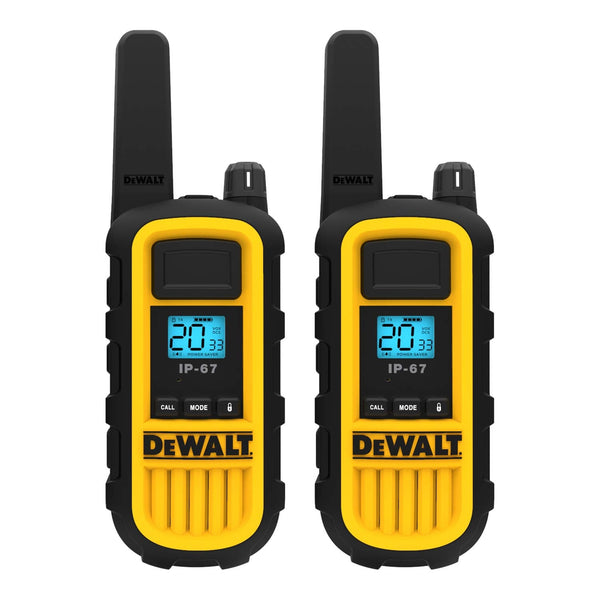 DeWalt DXFRS800 Heavy Duty Walkie Talkies