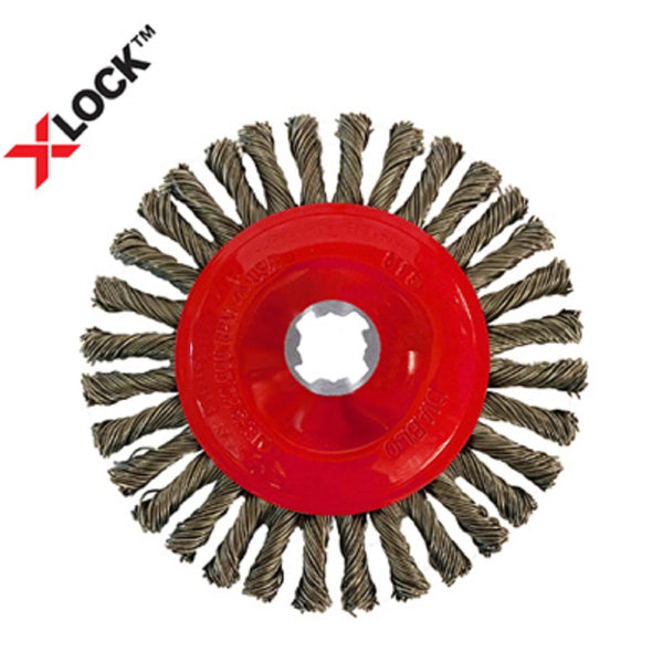 Diablo DWW400XSBC01F X-Lock Stringer Bead Twist Wheel, Metal, 4 Inch