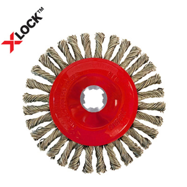 Diablo DWW400XSBS01F X-Lock Stringer Bead Twist Wheel, 4 Inch