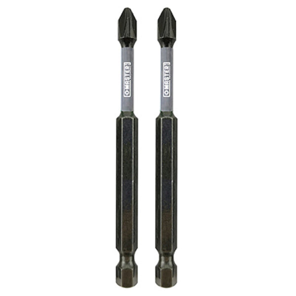 Disston 255386 Impact Power Bits Phillips #2 - 3- 1/2 Inch