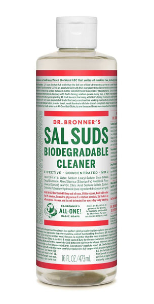 Dr. Bronner's SSL16 Sal Suds Organic Cleaner, 16 OZ