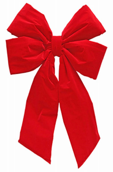 Dyno Seasonal Solutions 4400P6-24IN Commercial Decorating Bow, Red Velvet