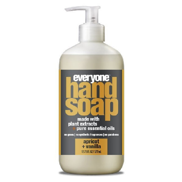 EO Products 220857 Hand Soap Apricot plus Vanilla, 12.75 Ounce