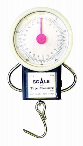 Eagle Claw 0848-2585 Scale Dial With Tape Deluxe, 50 Lbs