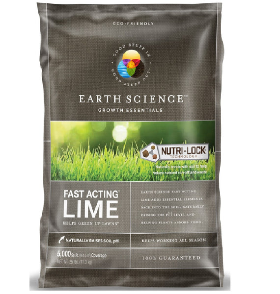 Earth Science 11881-80 Fast Acting Lime, 25 lb