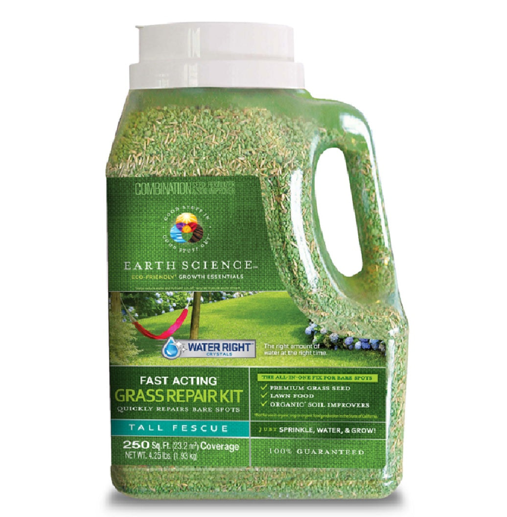 Earth Science 11876 6 Tall Fescue Lawn Repair Seed Mix 4 25 Lb