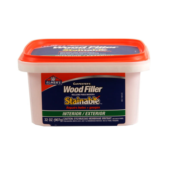 Elmer's E892 Carpenter's Interior/Exterior Wood Filler, 32 Oz