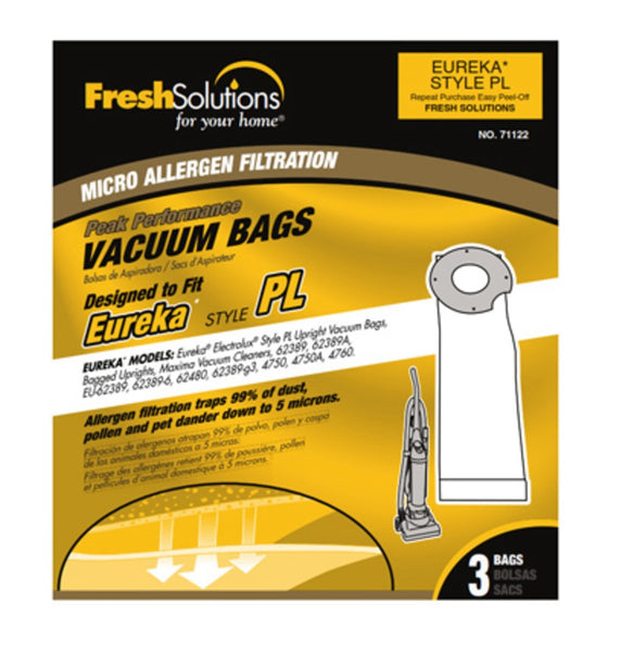Eureka 71122 Pl Vacuum Bag, 3 Pack
