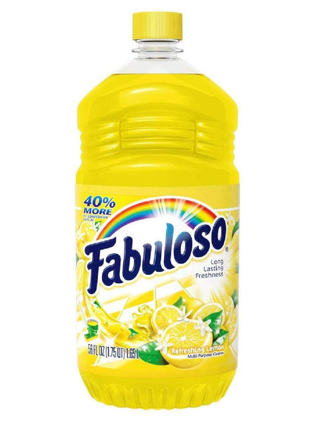 Fabuloso MX06157A All Purpose Cleaner, Lemon Scent, 56 Oz
