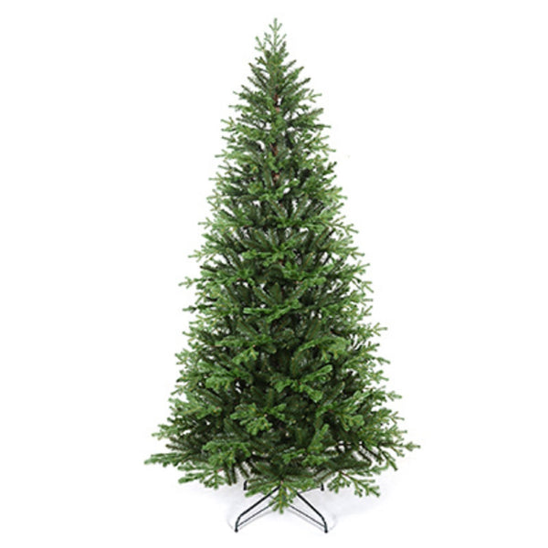 Family Tree FTV19004G Pre-Lit Christmas Tree, Dark Green, 7.5 Feet