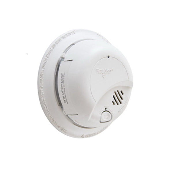 First Alert 1040963 AC Smoke Alarm With Battery, 18 Pack