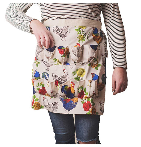Fluffy Layers ROOFL1-227 Half Body Egg Collecting Apron