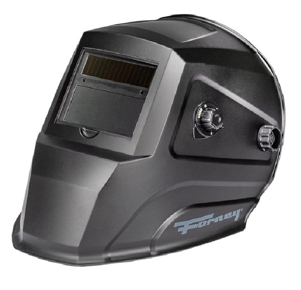 Forney 55857 Variable Shade Welding Helmet, Black