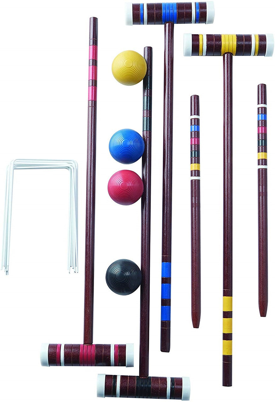 Franklin 50210 4 Player Starter Croquet Set