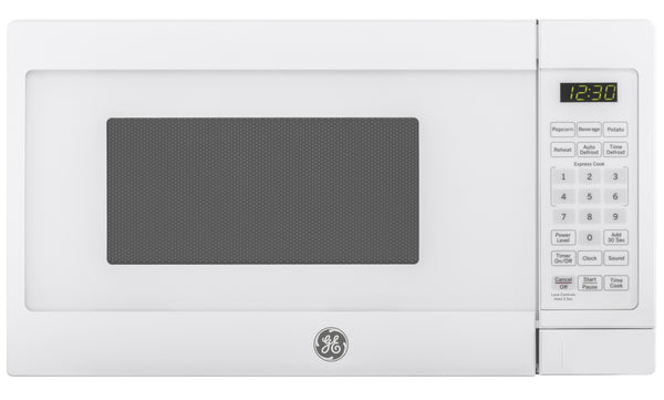 GE JES1072DMWW Countertop Microwave Oven, 700 Watts