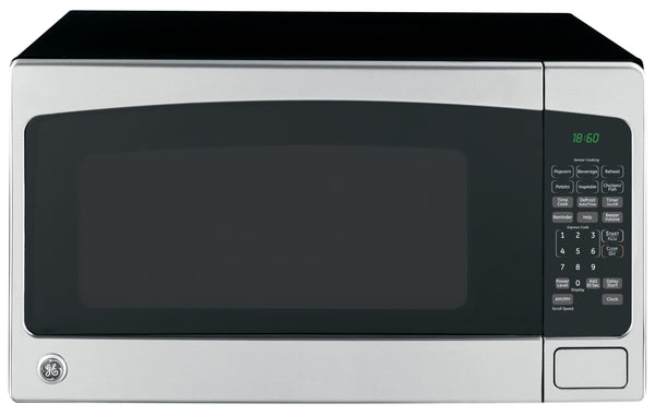 GE JES2051SNSS Countertop Microwave Oven, 1200 Watts