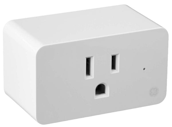 GE Lighting 93103491 C by GE On/Off Smart Plug, White