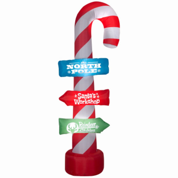 Gemmy 112248 Airblown Inflatable Christmas Candy Cane
