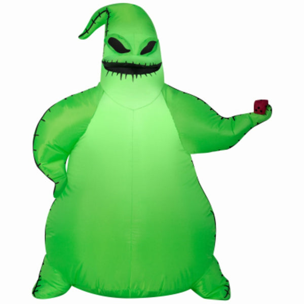 Gemmy 225069 Airblown Oogie Boogie Inflatable Halloween Decoration, Green