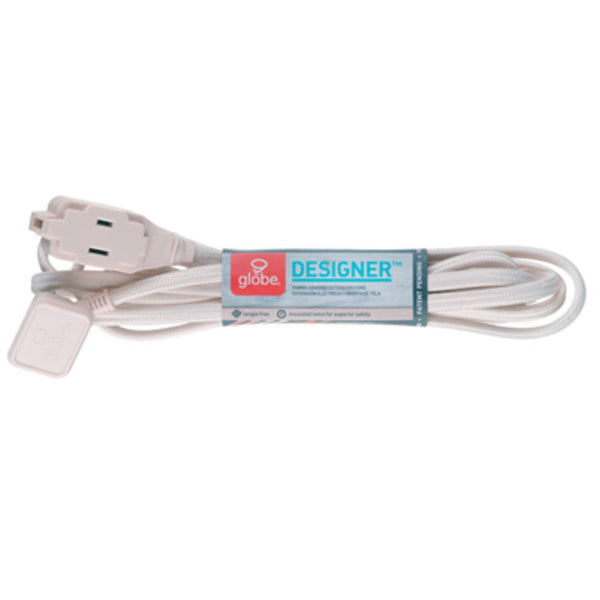 Globe Electric 2259501 16-2 Designer Extension Cord