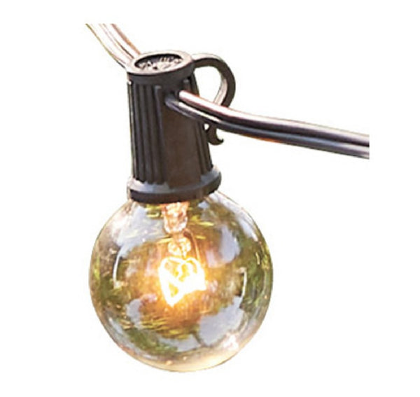 Globe Electric 12873 Monaco Collection Incandescent String Light Set, 25 feet