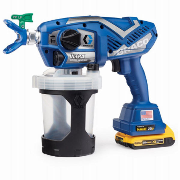 Graco 17M363 Ultra Cordless Airless Handheld Paint Sprayer