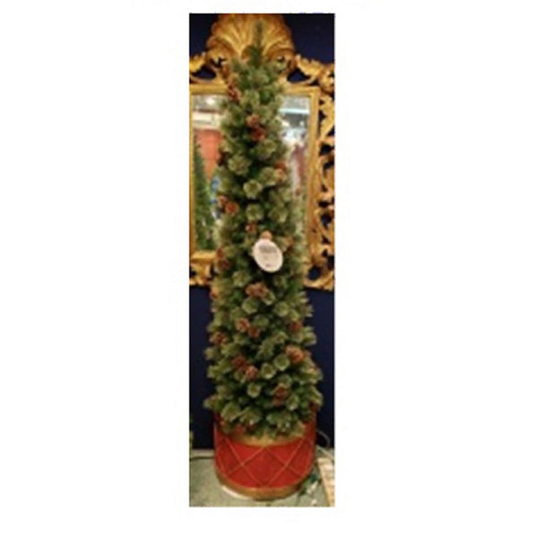 Greenfields Christmas Tree MELO810054TV4 Artificial Porch Tree, 6.5 Feet