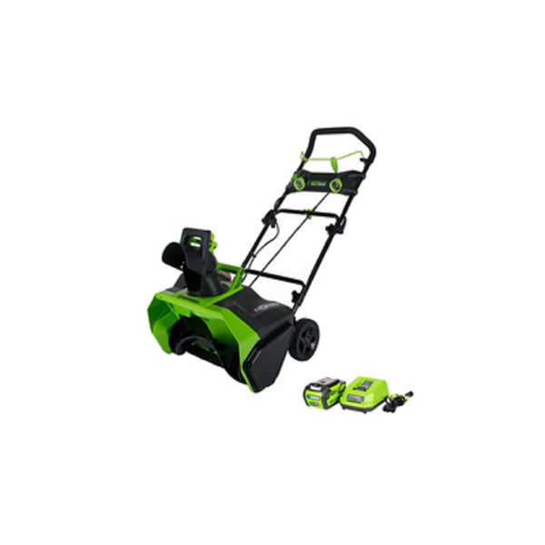 Greenworks 26272 Snow Thrower, 40V, 20 Inch