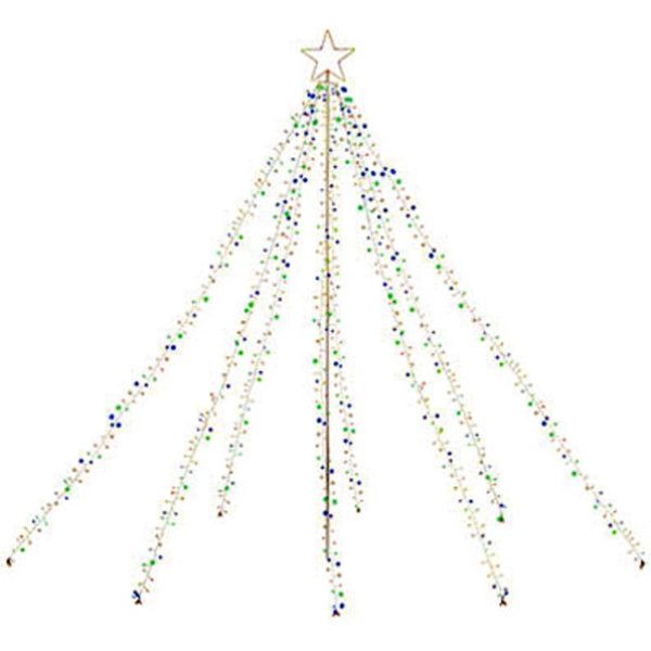 Holiday Wonderland RHG04211 Twinkling Christmas Tree, 880 Light