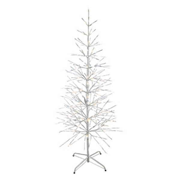 Holiday bright lights BIRT-42-224WWPW LED Lighted Birch Tree, 42 inch