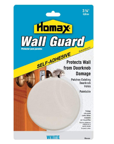 Homax 5103-10-12 Wall Guard Peel & Stick Wall Patch, White