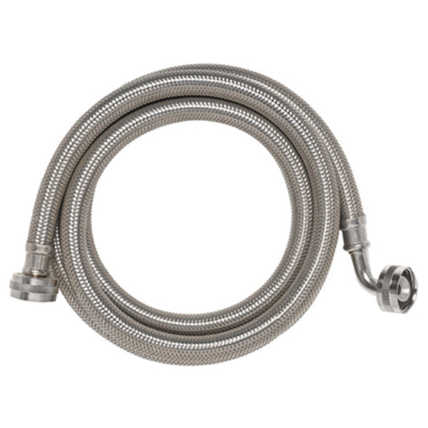 Homewerks 7243-60-34-1E Washing Machine Hose, Stainless Steel