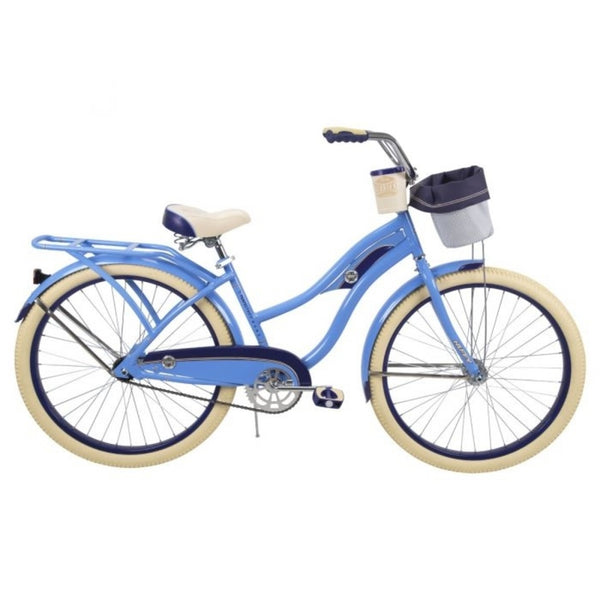 Huffy 26659 Deluxe Cruiser Women Bicycle, Gloss Periwinkle