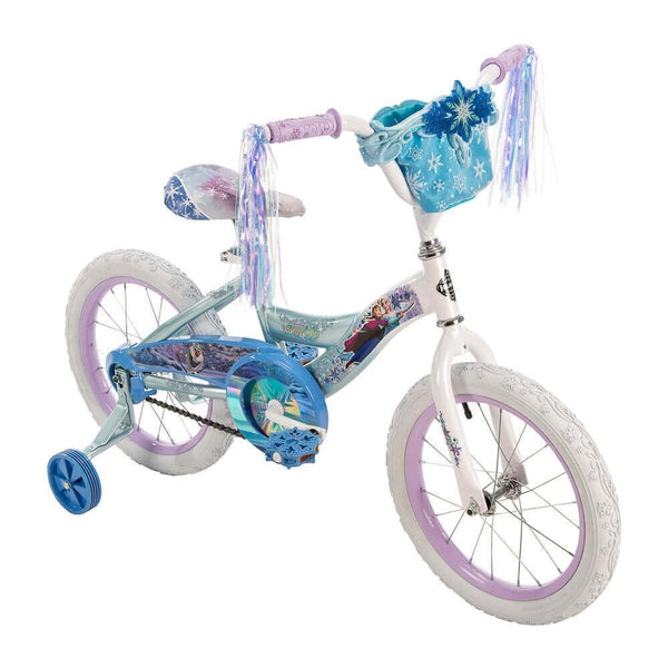 Huffy 21398 Girl's Frozen Bicycle, Blue