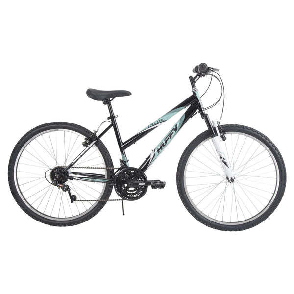 Huffy 26339 Women's Incline Bicycle, Glass Black