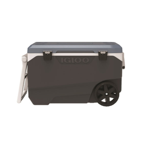 Igloo 34488 Maxcold Latitude Roller Cooler, 90 Quart Capacity
