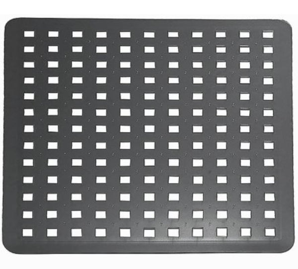 InterDesign 36660 Euro Sink Mat, Black
