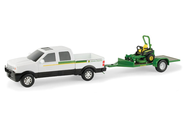 John Deere 45520 Dealer Pickup with Z Track Mower Set