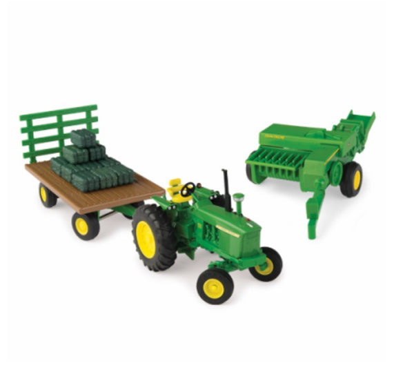John Deere 46667 1:32 Die Cast Haying Set